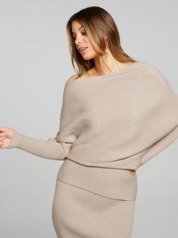 Inez Milano Knit Top Sand – Portmans Online