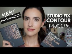 MAC Studio Fix Sculpt + Shape Contour Palette | Demo + Swatches of Both Palettes – YouTube