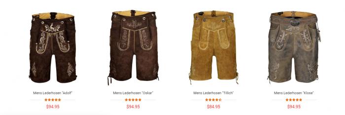 Buy Authentic Oktoberfest Costume Online