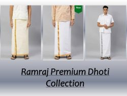 Pure Cotton Dhoti Collections Online