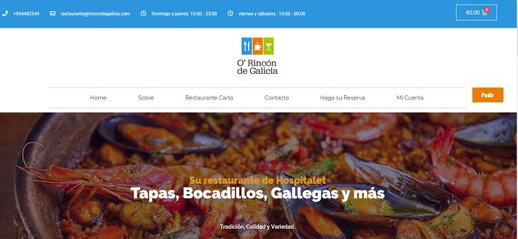 restaurantes gallegos en hospitalet