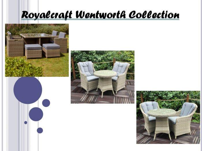 Royalcraft Wentworth Garden Furniture   Furniture Direct UK