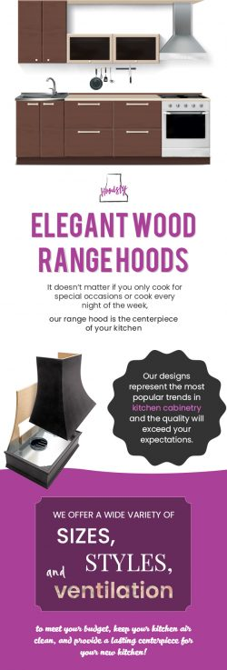 Shop Custom Wood Hoods in the USA from Hoodsly