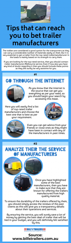 Some important things to keep in mind while buying a trailer