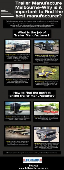 How can you contact the trailer manufacturer online?