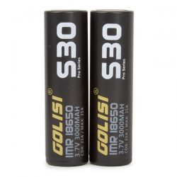 Golisi S30 18650s Li-ion Battery 2PCS