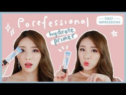WEAR TEST: BENEFIT POREFESSIONAL HYDRATE PRIMER ON NEW YEARS EVE! | MONGABONG – YouTube