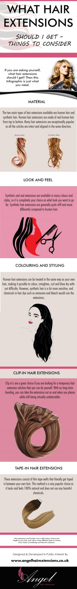 WHAT HAIR EXTENSIONS SHOULD I GET – THINGS TO CONSIDER