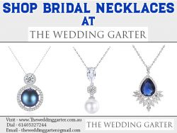 Shop Bridal Necklaces At The Wedding Garter