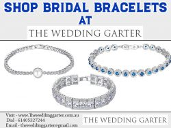 Shop Bridal Bracelets At The Wedding Garter