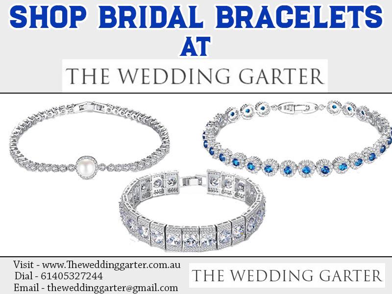 Shop Bridal Bracelets At The Wedding Garter
