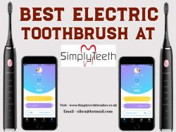 Best Electric Toothbrush At Simplyteeth Online ltd