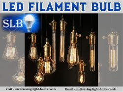 Led Filament Bulb At Saving Light Bulbs