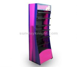 Acrylic cosmetic display rack – Design and manufacturing