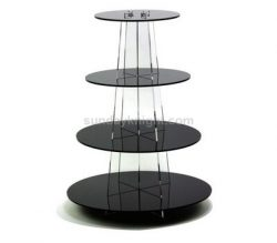 Acrylic cupcake tower stand, Cupcake tower for wedding party