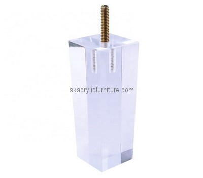 Acrylic leg, Acrylic furniture legs, Lucite furniture legs