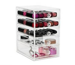 Acrylic makeup drawer box wholesale from China manufacturer