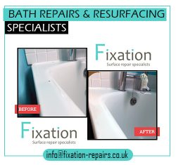 Bath Repairs & Resurfacing Specialists – Fixation-repairs.co.uk