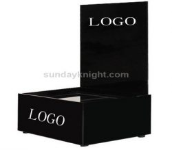 Black cosmetic display stands – Custom made service