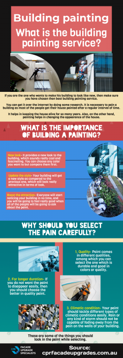 How to choose then best building painting service