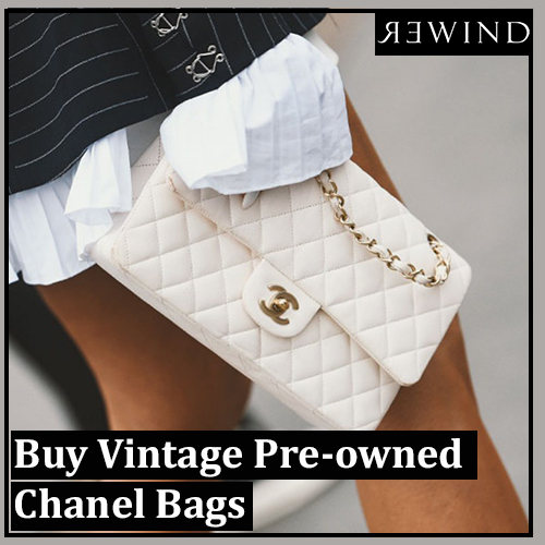 Buy Vintage Pre-owned Chanel Bags from Rewind Vintage Affairs