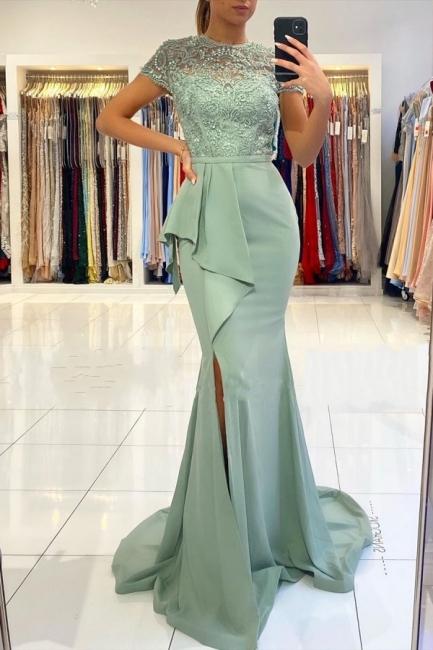 Designer Abendkleider mit Spitze | Abiballkleider Abendkleid Günstig online