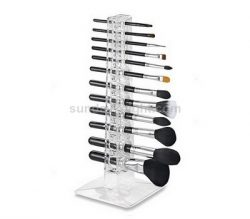 Clear acrylic display for makeup brush – Factory direct sale