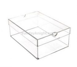 Clear shoe boxes, transparent shoe boxes, acrylic shoe boxes