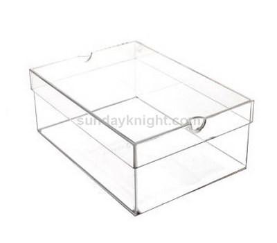 Clear shoe boxes, transparent shoe boxes, acrylic shoe boxes