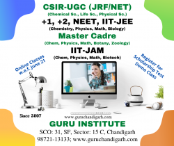 CSIR NET Life Sciences Coaching in Chandigarh