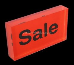 Custom acrylic for sale block, acrylic printing block