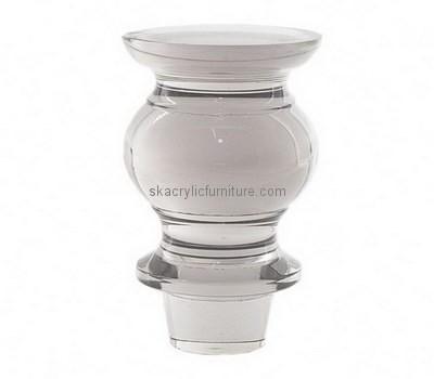 Custom acrylic furniture legs AL-022
