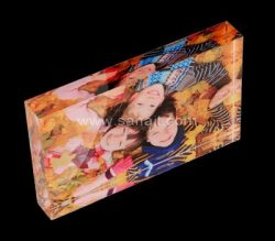Custom acrylic photo block – China manufacturer direct sale