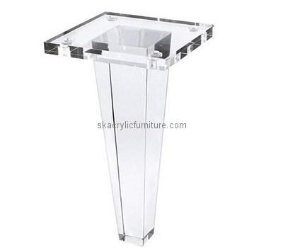 Custom acrylic table leg AL-024