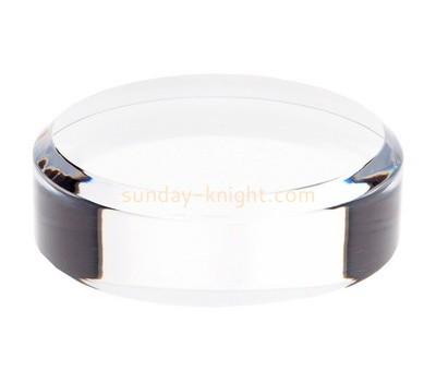Custom clear acrylic display block ABK-014