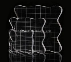 Custom clear stamping tools set with grid lines – Factory Direct Sale