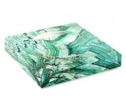 Custom color acrylic beveled soap dish ABK-032