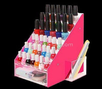 Custom nail polish display holder, acrylic nail polish stand