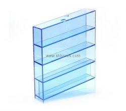 Custom 4 tiers narrow acrylic cabinet BDC-2099