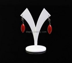Custom Y shape acrylic earring display stand EDJ-502