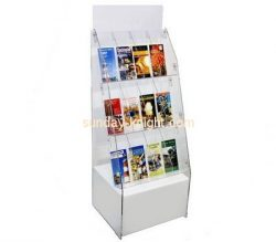 Customize perspex floor brochure holder BHK-604