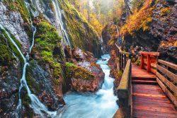 Wimbachklamm Gorge