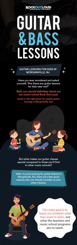 Get Private Guitar Lessons for Kids in Morganville, NJ from Rock Out Loud