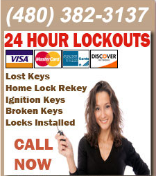 24 Hour Locksmith Arizona | (480) 382-3137