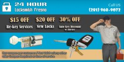 24 Hour Locksmith Fresno 281-968-9072
