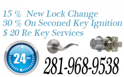 24 Hour Locksmith Richmond TX 281-968-9538