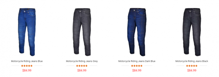 Casual Riding Kevlar Jeans