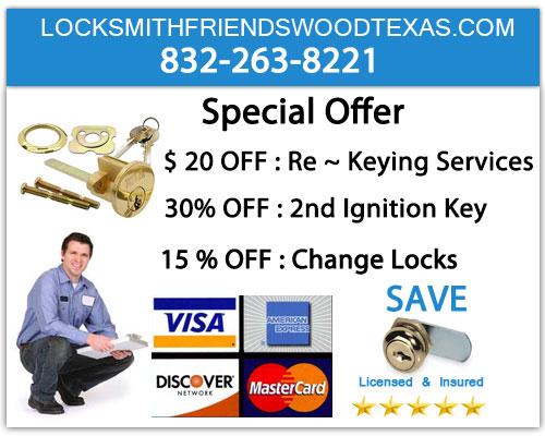 Locksmith Friendswood Texas 832-263-8221