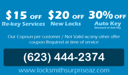 Locksmith Surprise AZ | (623) 444-2374