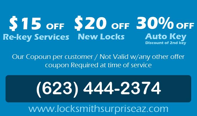 Locksmith Surprise AZ | (623) 444-2374